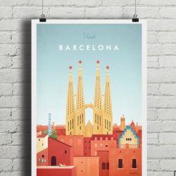 Travel Poster | Barcelona