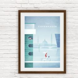 Travel Poster | Copenhagen