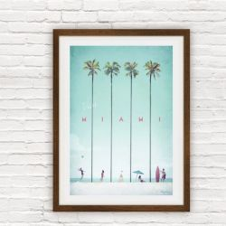 Travel Poster | Miami