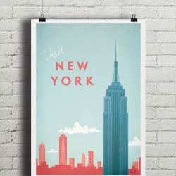 Travel Poster | New York
