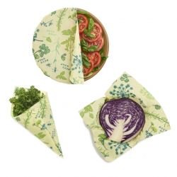 Bee's Wrap | Set of 3 | Herb Garden | Vegan