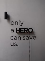 Uppercase HERO Black