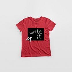 """Cotton Twitter"" Writable T-shirt Women | Used Raspberry"