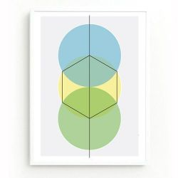 How To Draw A Hexagon Print   Cool
