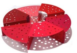 Table Basse Hexalto | Rouge