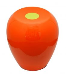 Hi-Stool Ufo Orange/Olive