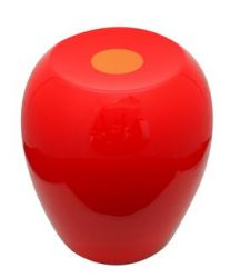 Hi-Stool Ufo Red/Orange