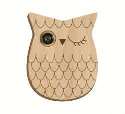 Pattern For Peephole Owl