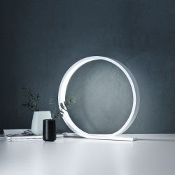 LOOP Table Lamp | White