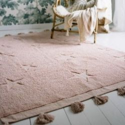 Washable Rug | Hippy Stars Nude