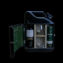 Coffret Cadeau Jerrycan Bar Pour Elle et Lui mini 10 L | Noir