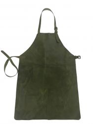 Leather Apron | Green