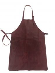 Leather Apron | Red