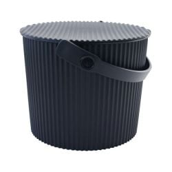 Storage Bucket Omnioutil | Black