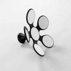 Mirror Margriet | Black
