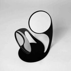 Spiegel Twist | Schwarz