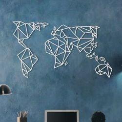 Carte Mondiale | Blanc