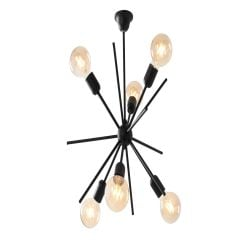 Hanging Lamp Gemini | Black