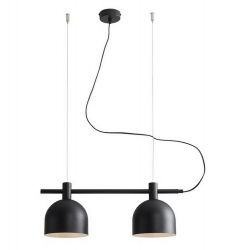 Hanging Lamp Mecha | Double Black