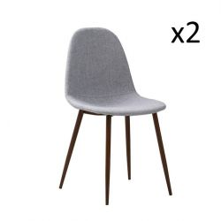 Chairs Sofie Set of 2 | Grey