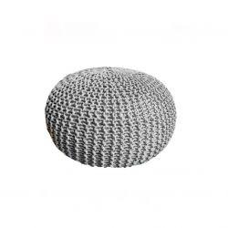 Pouf Dedalo 45 cm | Grey