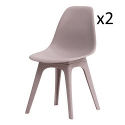 Chairs Carina Set of 2 | Grey