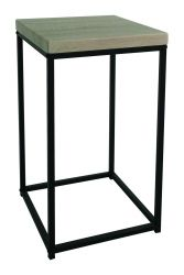 Table d'Appoint Pictor H 60 cm | Noir, Bois