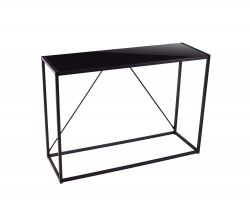 Coffee Table Lynx H 85 cm | Black, Metal