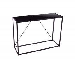 Table d'Appoint Lynx H 85 cm | Noir, Métal