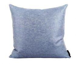 Linen/Cotton Cushion Blue | Square
