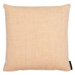 Wool/Canvas Cushion | Yellow
