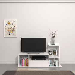 TV-Ständer Sumatra | Weiß