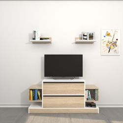 TV-Stand Mauritius | Weiss & Sonoma