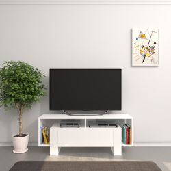 TV-Ständer Melville | Weiß