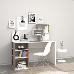 Desk Esmes | White & Cordoba