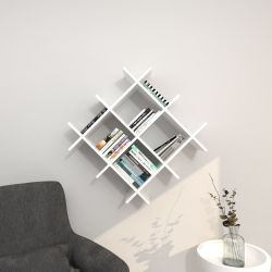 Shelf Farley | White & Red
