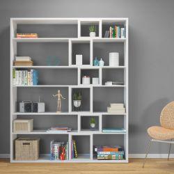 Bücherregal Sammie | Weiß