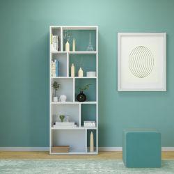 Skip Bookshelf | White