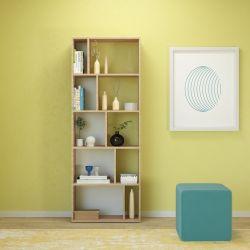 Bookshelf Skip | Wood