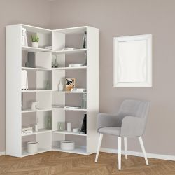 Bookcase Twin | White