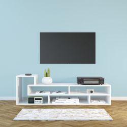 TV-Ständer Mickey | Weiß