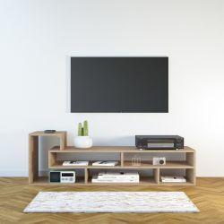 TV-Ständer Mickey | Helles Holz