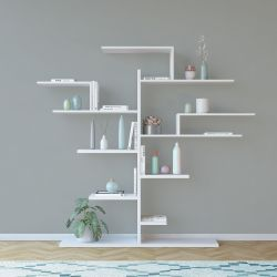Boekenkast Tree | Wit