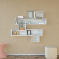 Bücherregal Geo | Weiß
