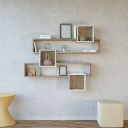 Bookshelf Geo | Wood