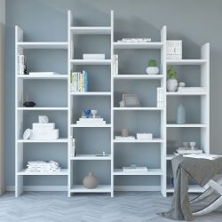 Bookcase Skyler | White