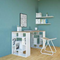 Schreibtisch Carrie | Holz