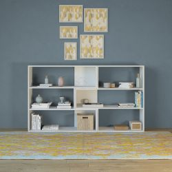 Bookcase Twinny | White