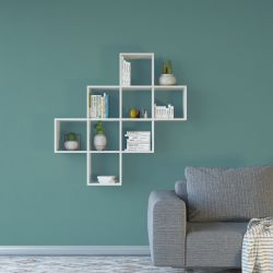 Bookcase Davie | White