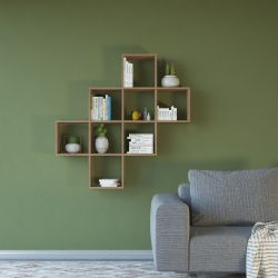 Bookcase Davie | Brown